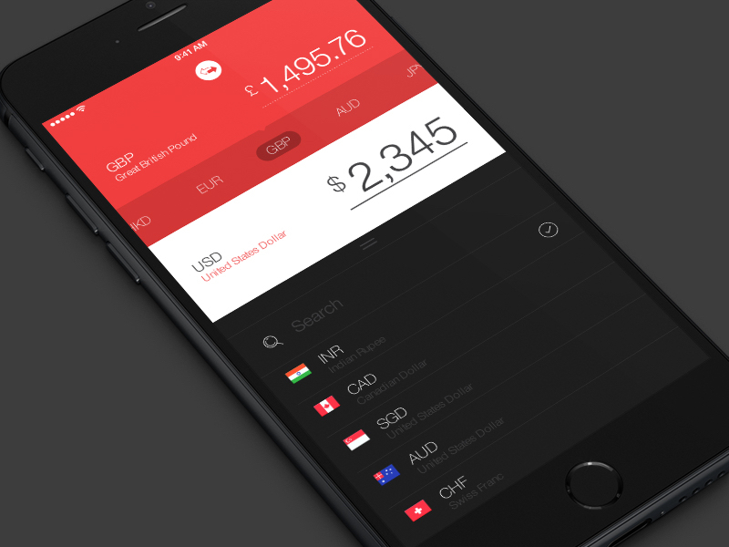 Converto Currency App
